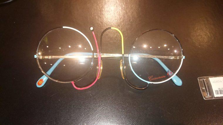 アートコレクターの間で貴重な存在。誠眼鏡店で手に入れたヴィンテージのメガネ「カサノバ」の写真