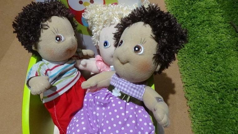 三和製作所トライアングル・ラボ・01ハートブリッヂガーデンにあった人形